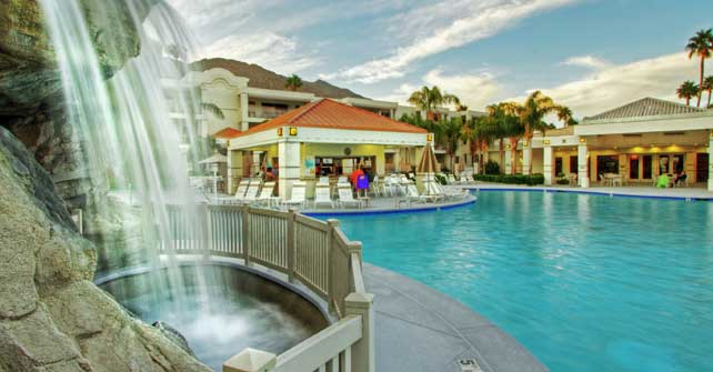 Pools And Fitness Center Palm Canyon Resort By Diamond Resorts